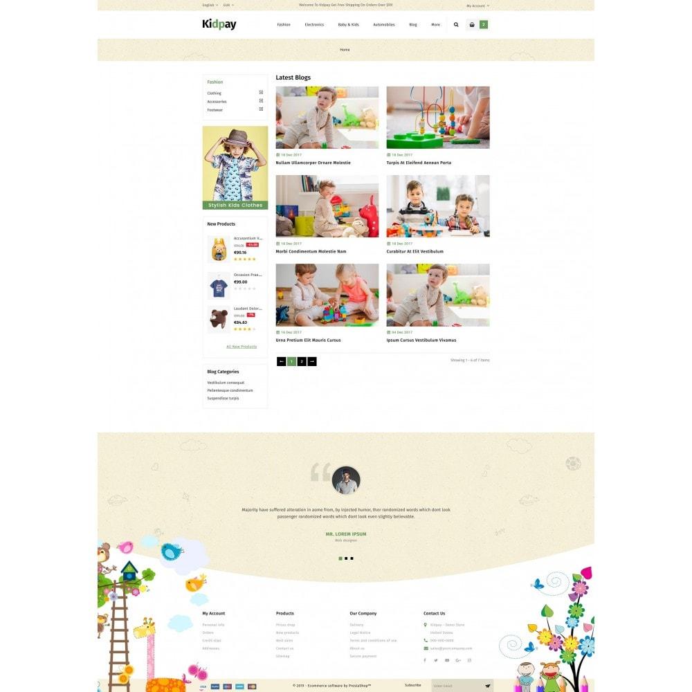 theme - Дети и Игрушки - Kidpay - Kids Store - 9