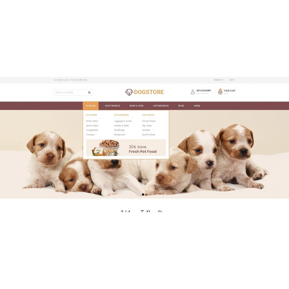 theme - Animali - Dog Store - Pet Food Store - 8