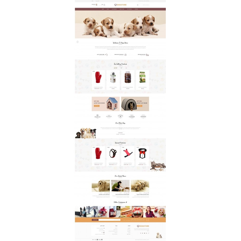 theme - Tier - Dog Store - Pet Food Store - 10