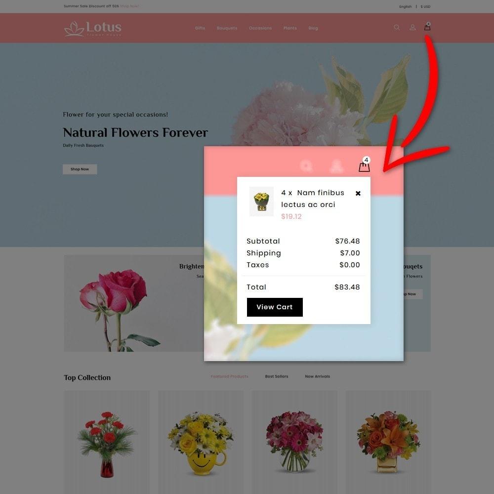 theme - Prezenty, Kwiaty & Uroczystości - Lotus Flower House - 6