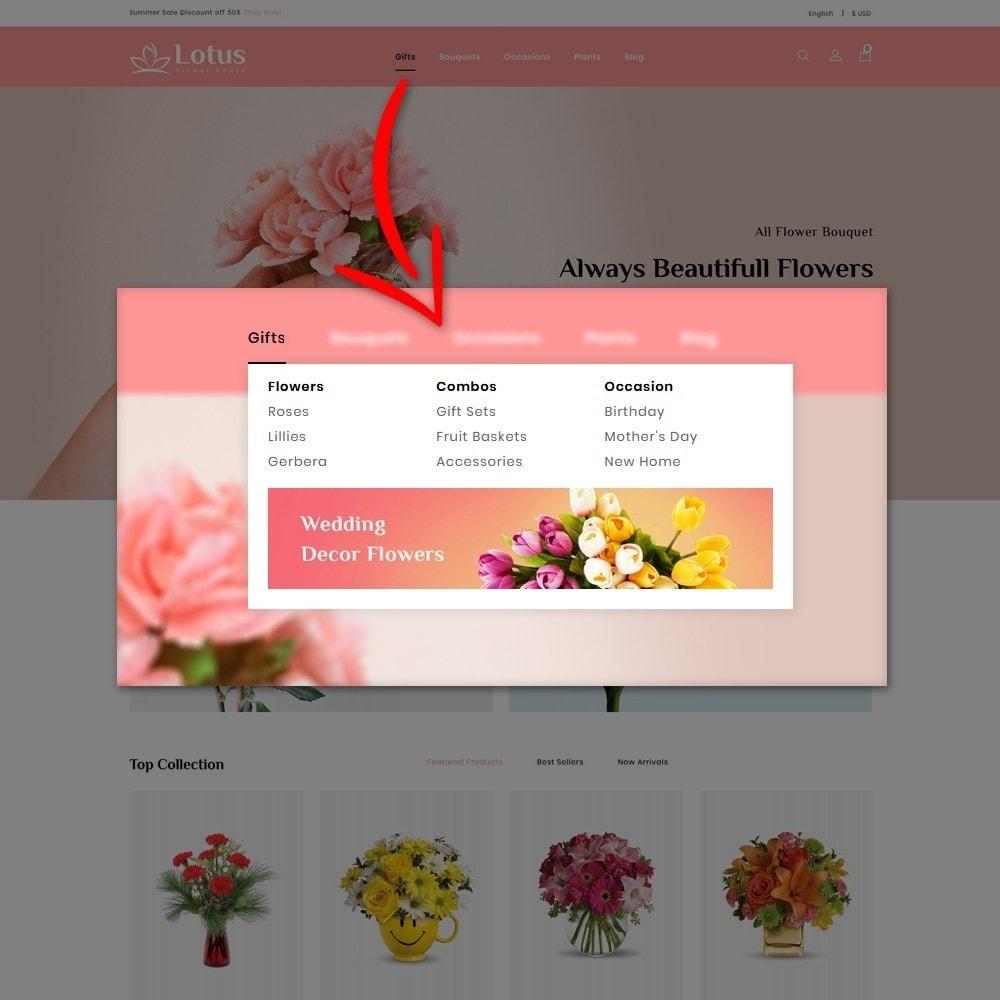 theme - Prezenty, Kwiaty & Uroczystości - Lotus Flower House - 8