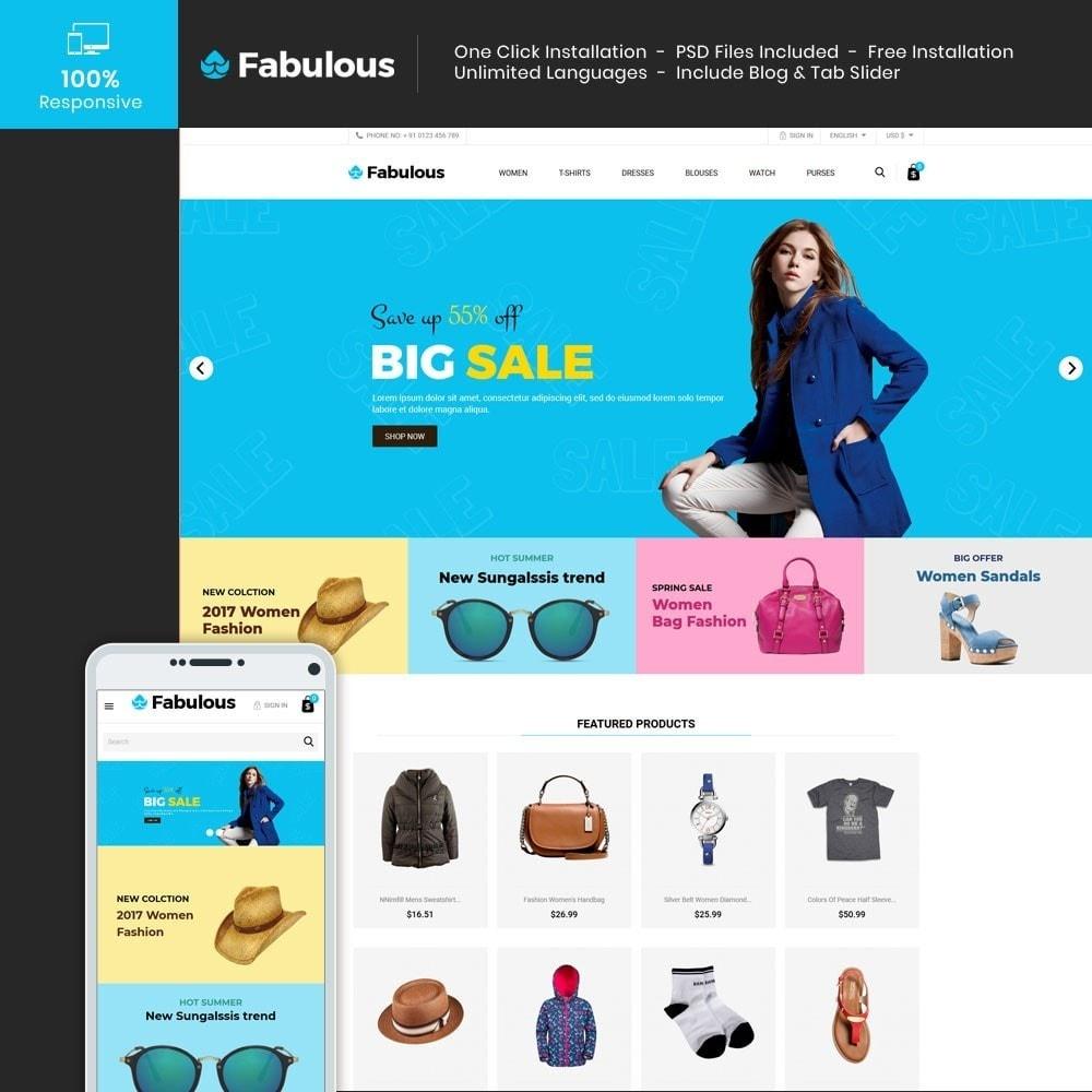theme - Fashion & Shoes - Women Fashion -  Cloth Designer Store - 1