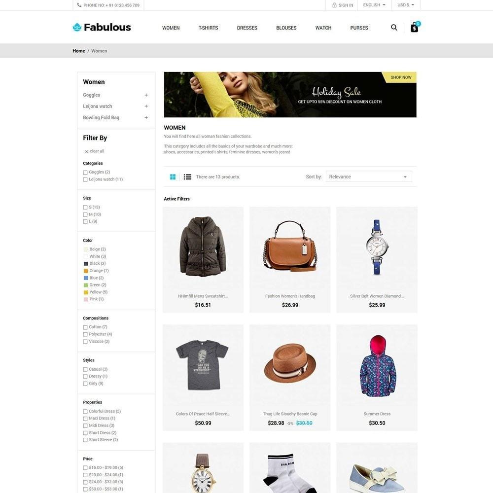 theme - Fashion & Shoes - Women Fashion -  Cloth Designer Store - 3