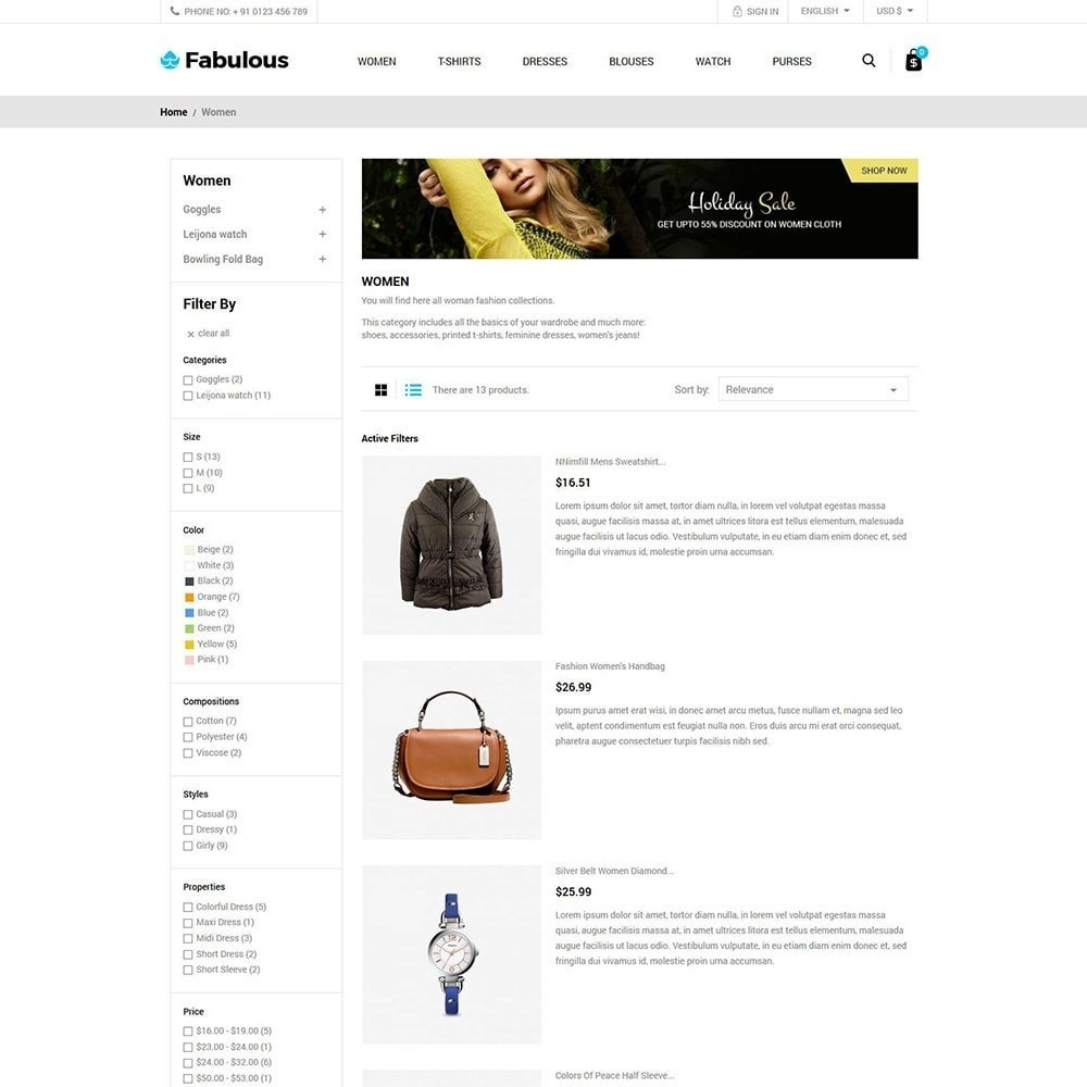 theme - Fashion & Shoes - Women Fashion -  Cloth Designer Store - 4