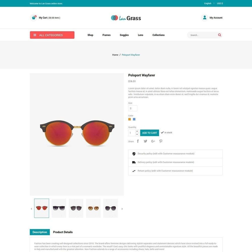 theme - Мода и обувь - Eyeware  Sunglass - Lens Store - 5