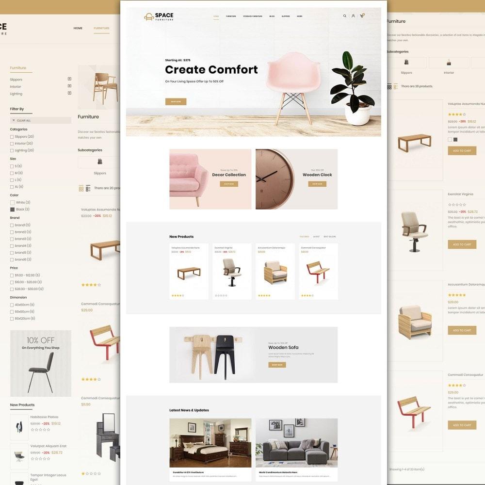 theme - Home & Garden - Space - Online Furniture StoreTemplate - 2