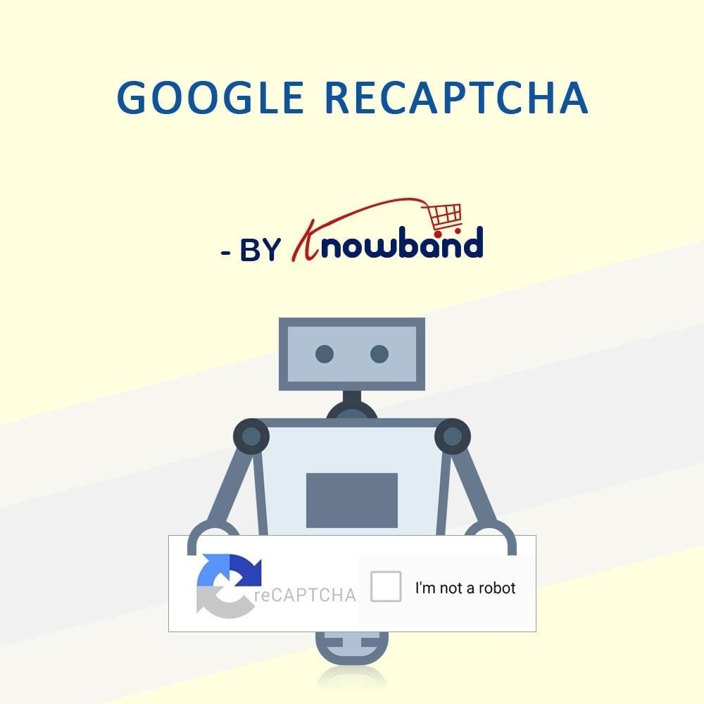 module - Segurança & Acesso - Google reCaptcha - 1