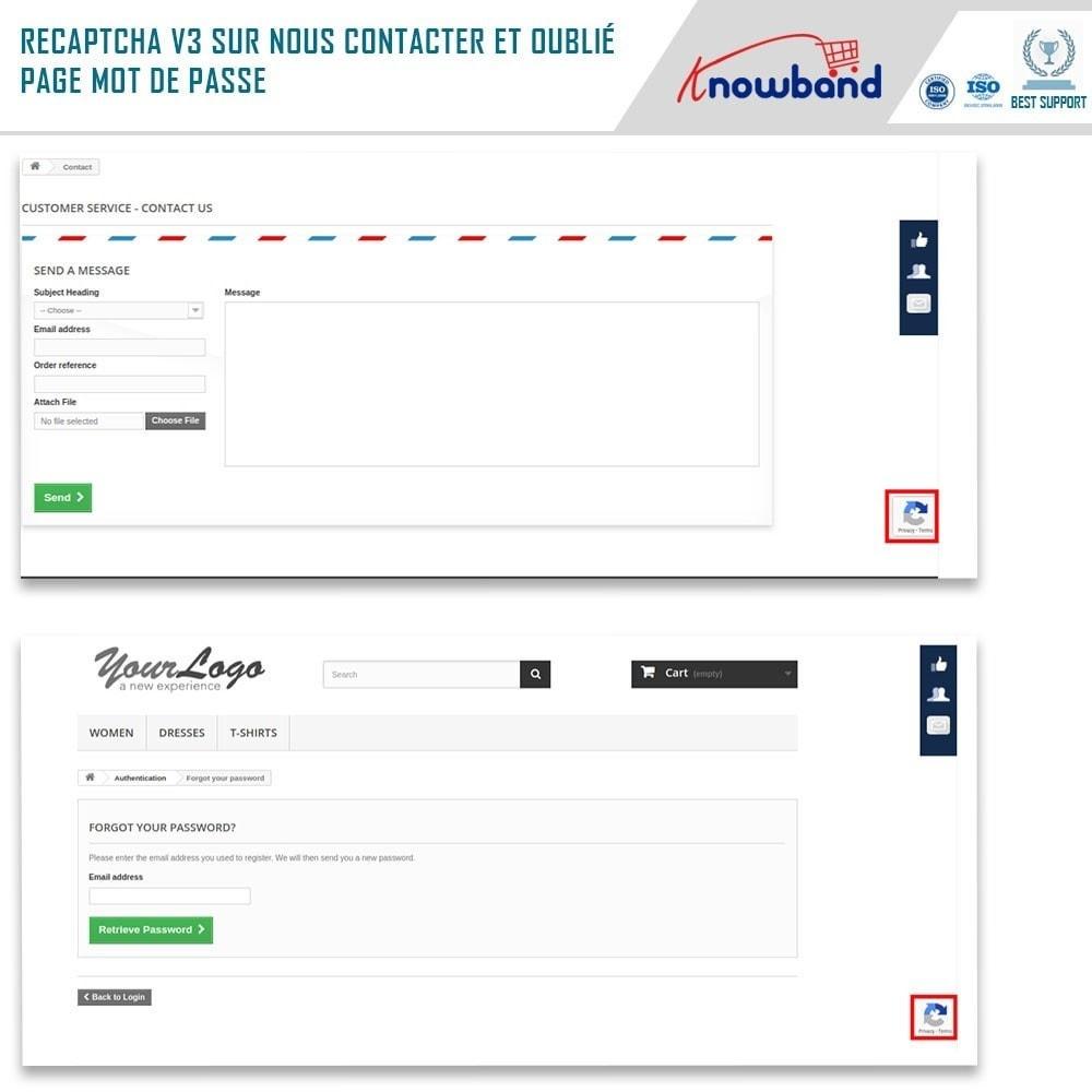 module - Sécurité & Accès - Google reCaptcha - 4