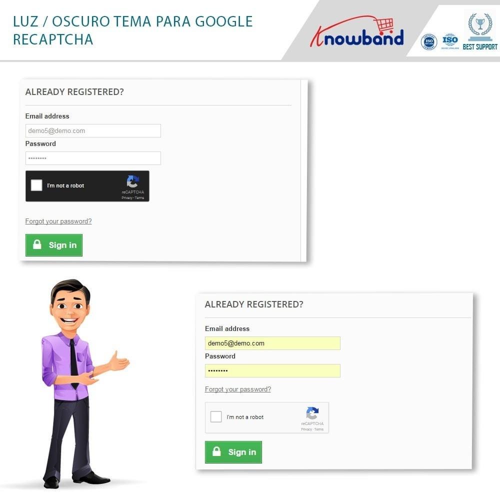 bundle - Seguridad y Accesos - Security Pack - reCaptcha, Private Shop, Block Spam - 2