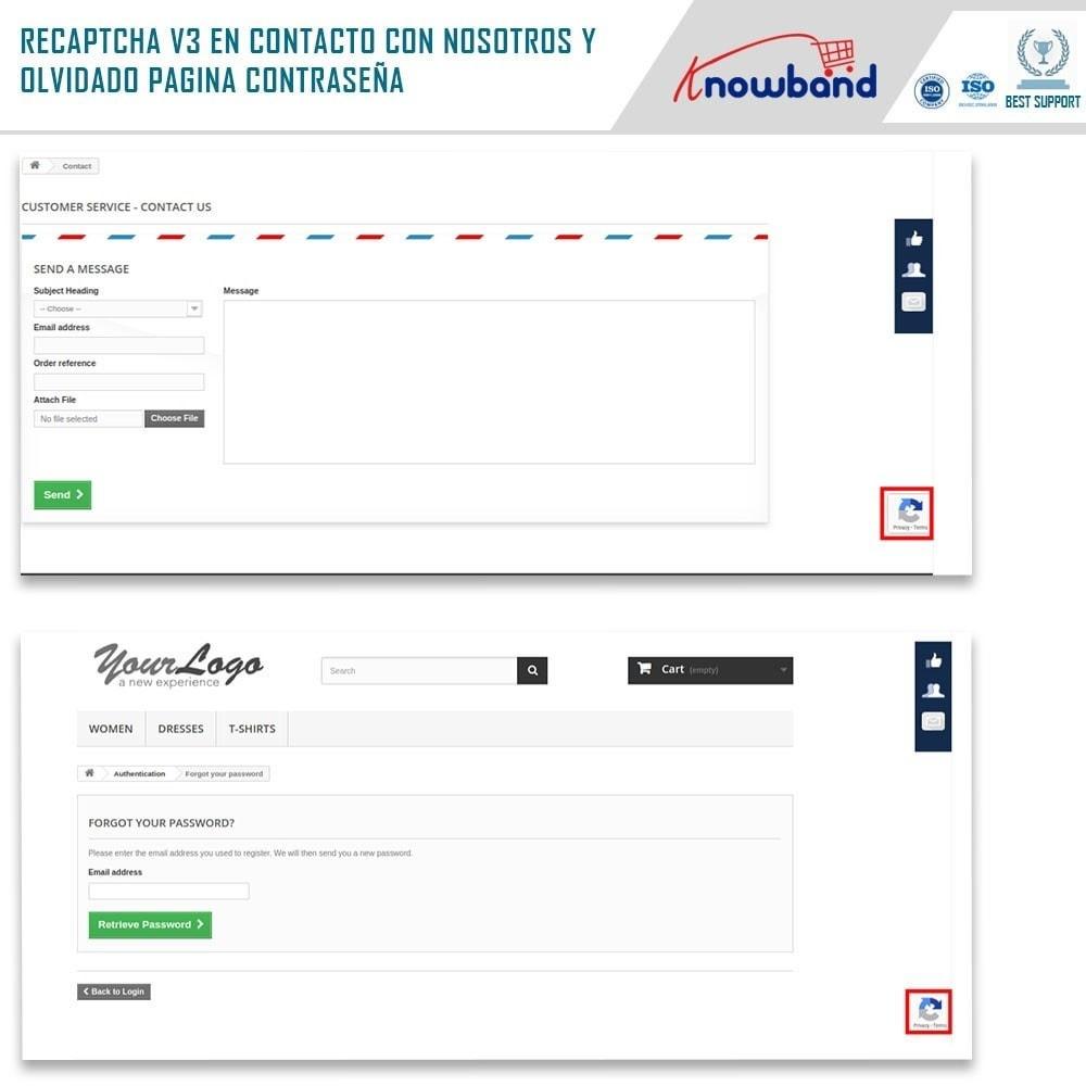 bundle - Seguridad y Accesos - Security Pack - reCaptcha, Private Shop, Block Spam - 4