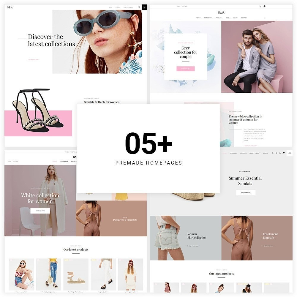 theme - Мода и обувь - Leo B&S Fashion Store - 1