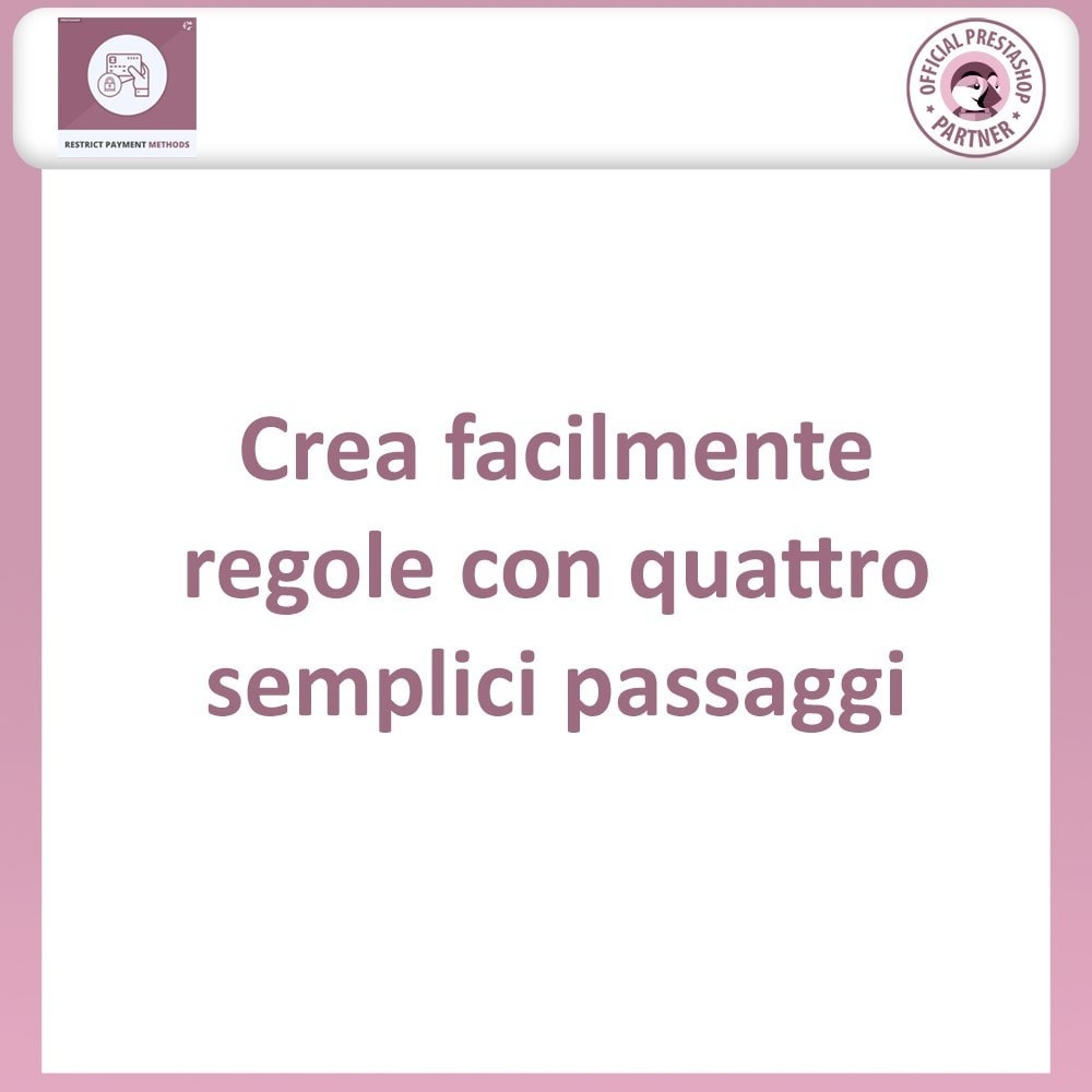 bundle - Altri Metodi di Pagamento - Restrict Payment Method + Restrict Shipping Methods - 3