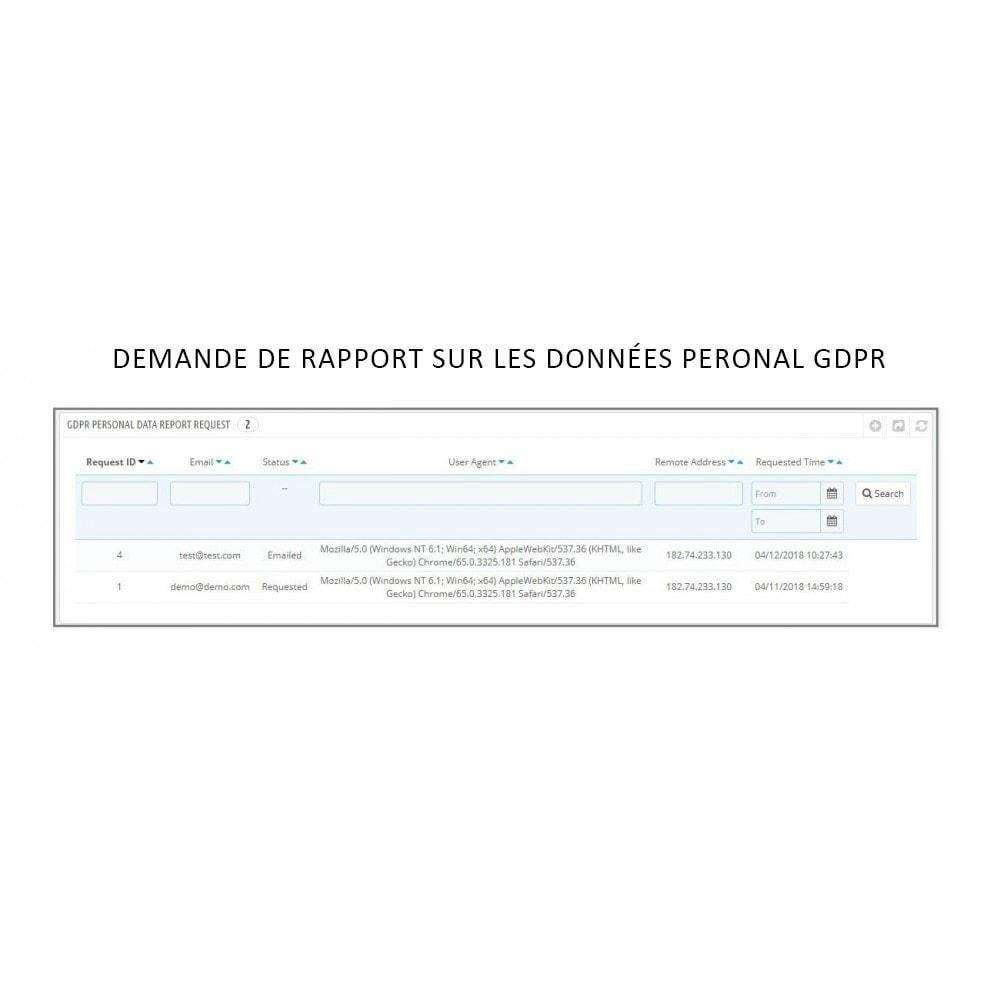 module - Législation - Knowband - RGPD - Droits des individus - 11