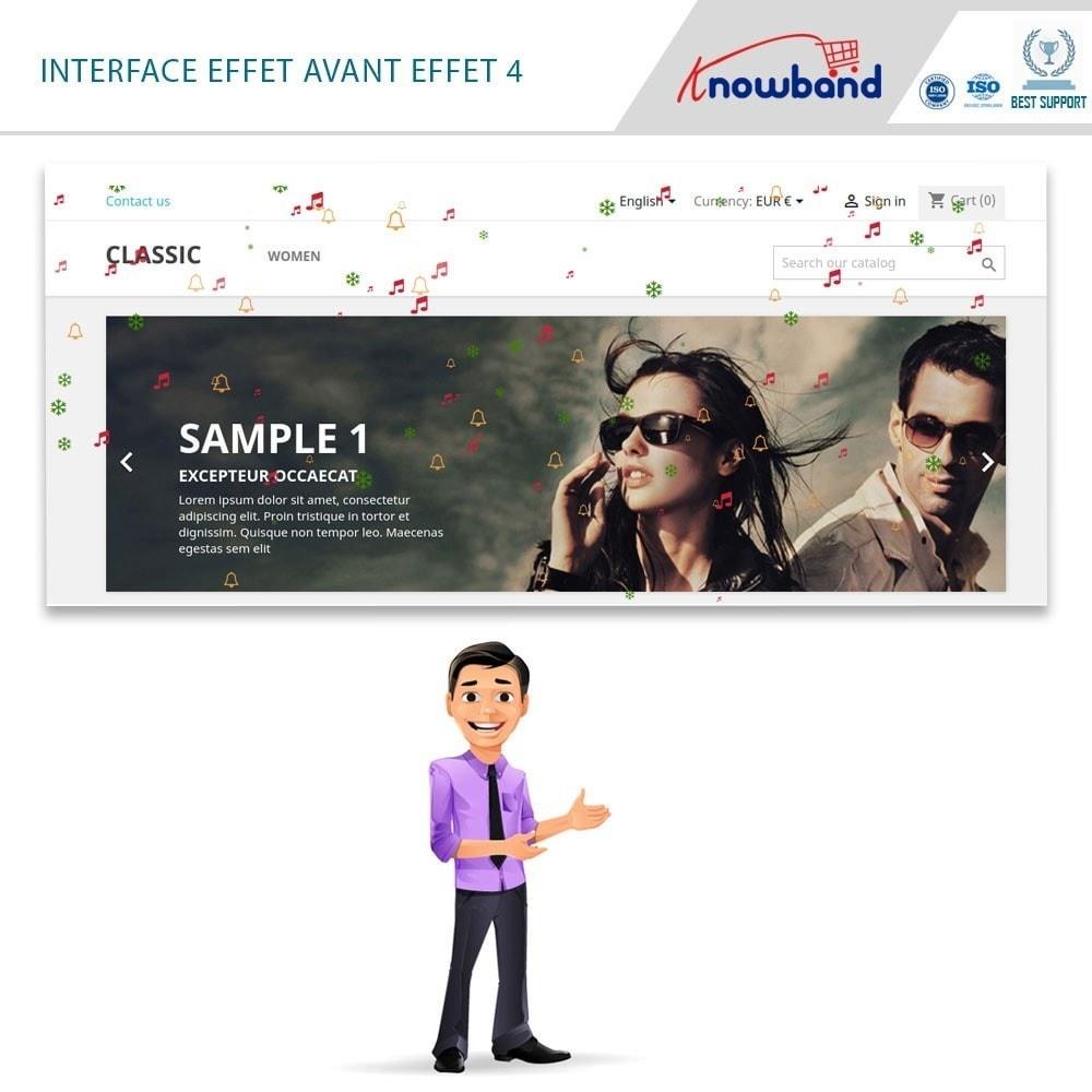 module - Personnalisation de Page - Knowband - Website Decoration Effects - 3