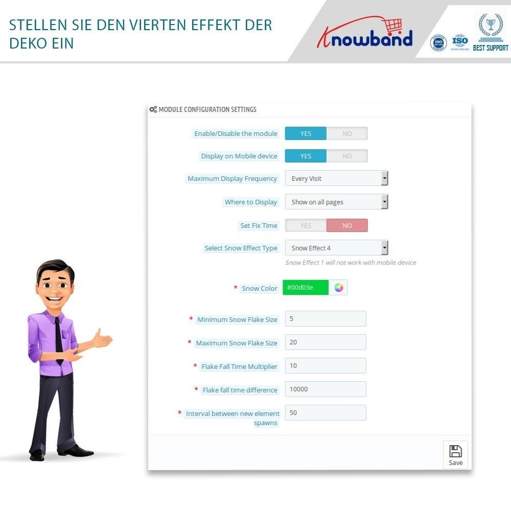 module - Individuelle Seitengestaltung - Knowband - Website Decoration Effects - 7