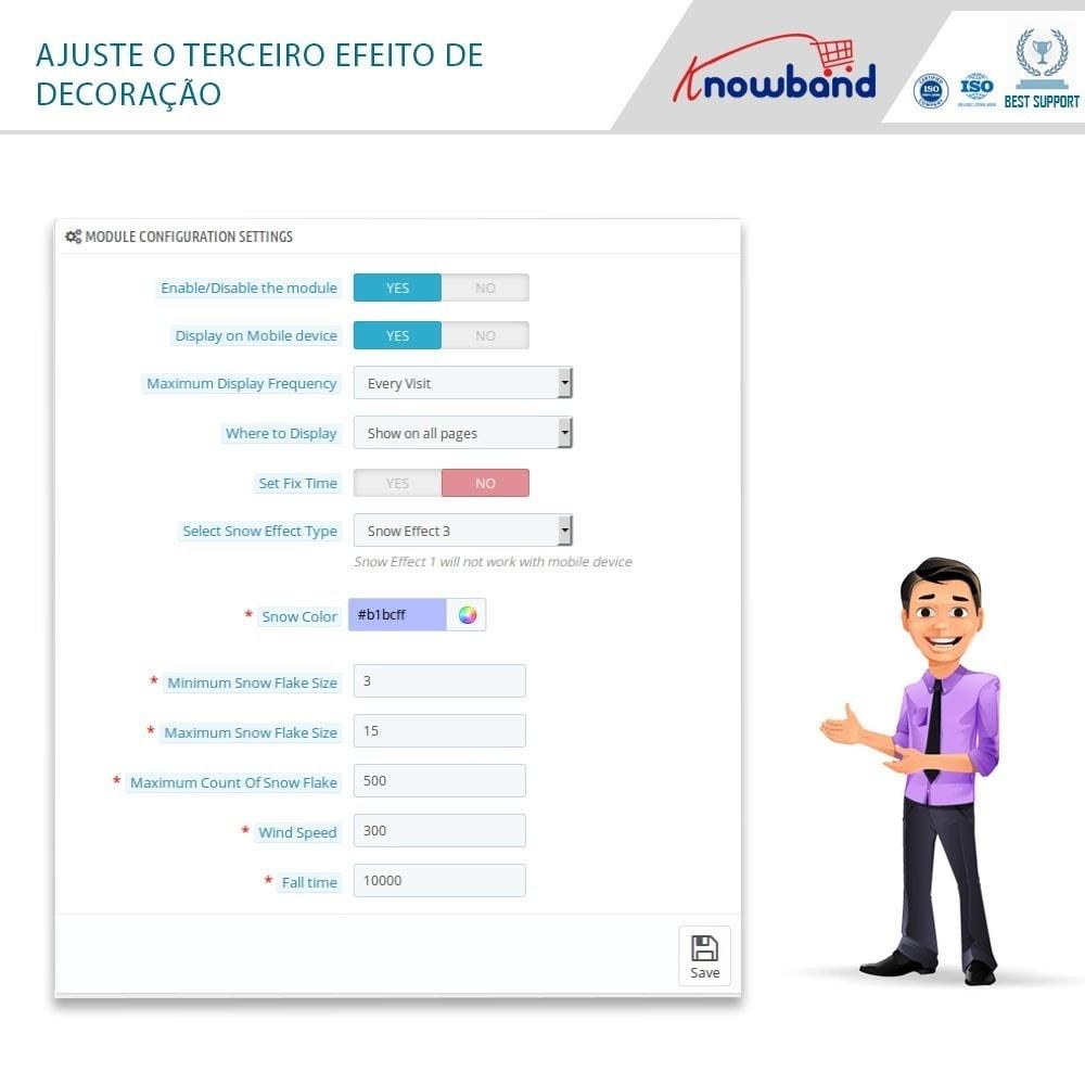 module - Personalização de página - Knowband - Website Decoration Effects - 7