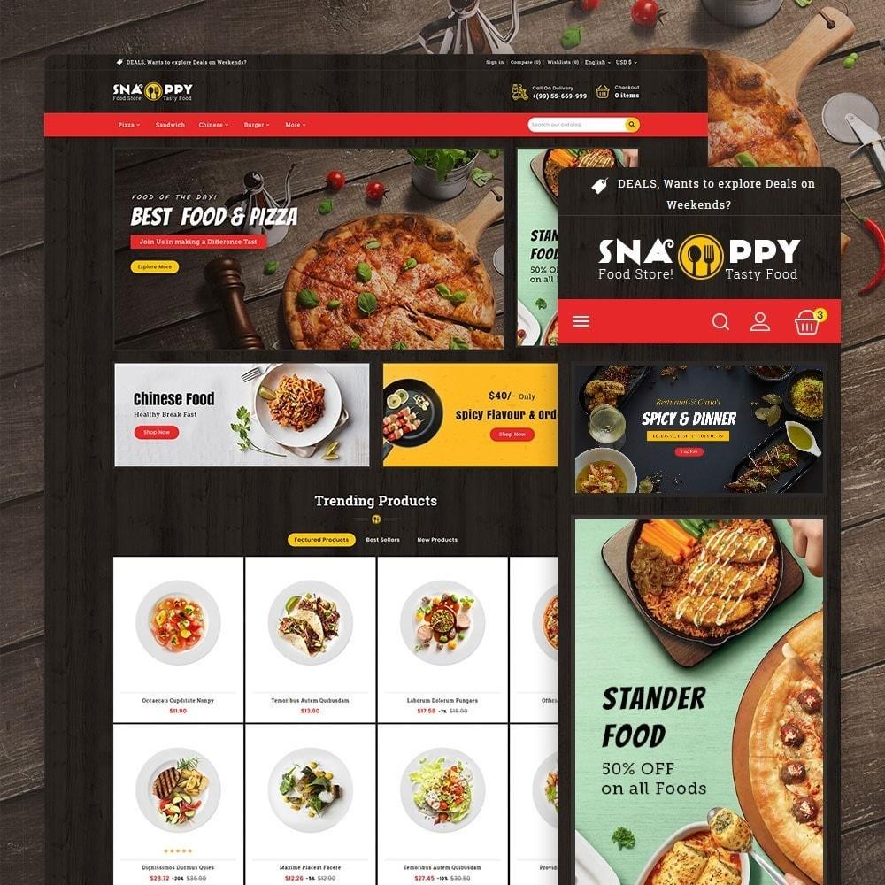 theme - Продовольствие и рестораны - Snappy - Fast Food - 1