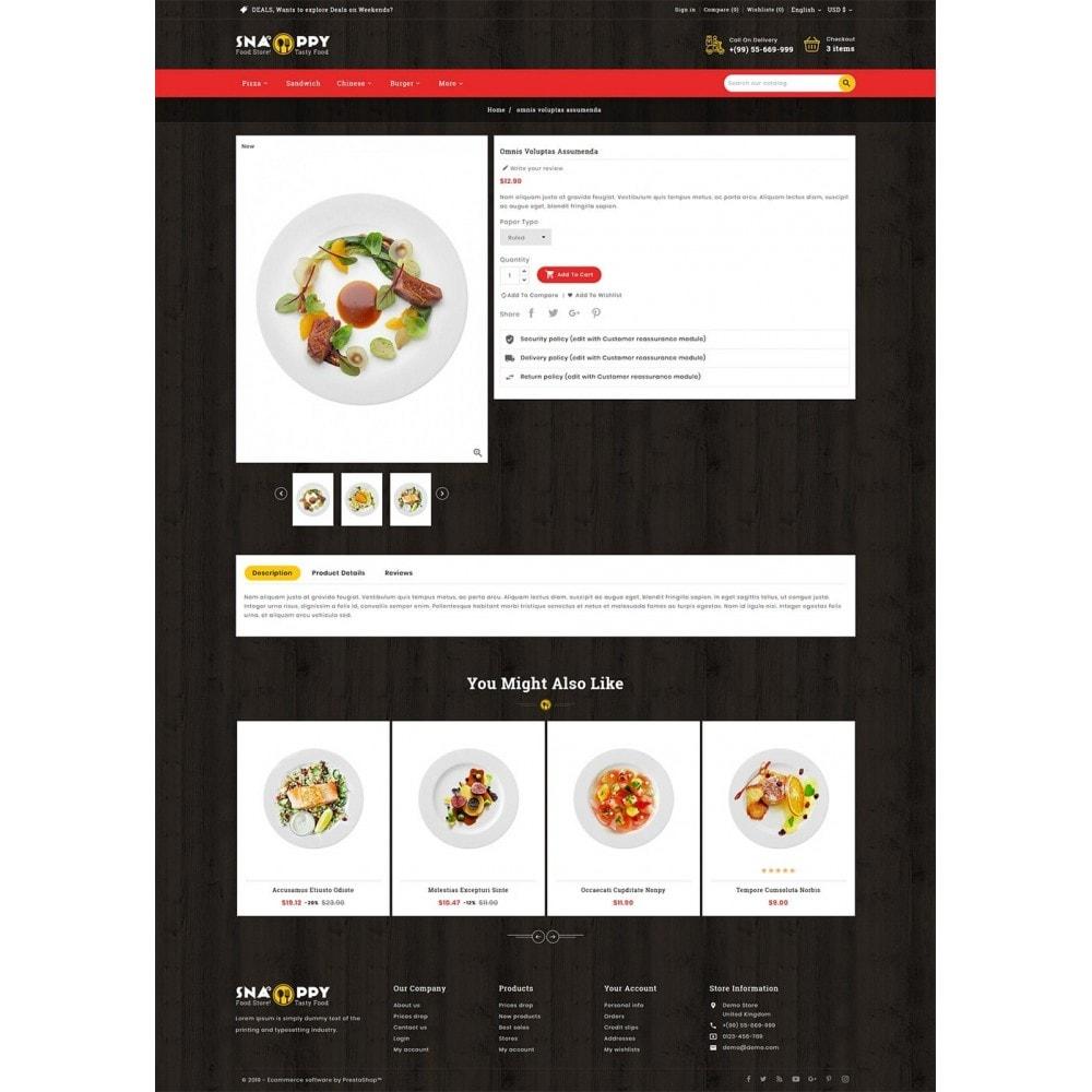 theme - Продовольствие и рестораны - Snappy - Fast Food - 5