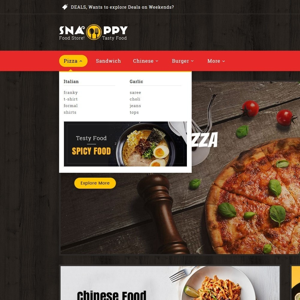 theme - Food & Restaurant - Snappy - Fast Food - 9
