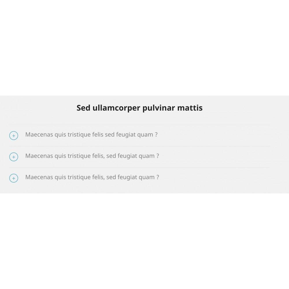 module - Blog, Forum & Actualités - Contenu accordéon - 3