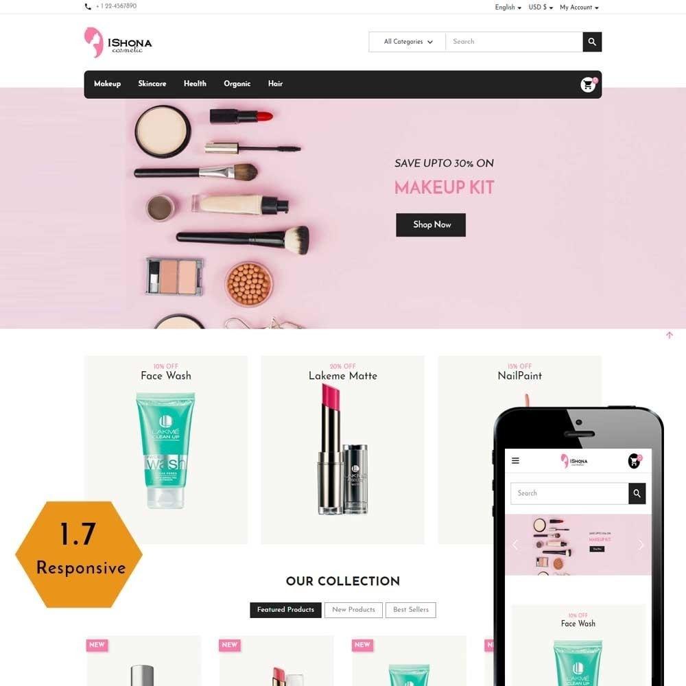 theme - Health & Beauty - Ishona Cosmetic Store - 1