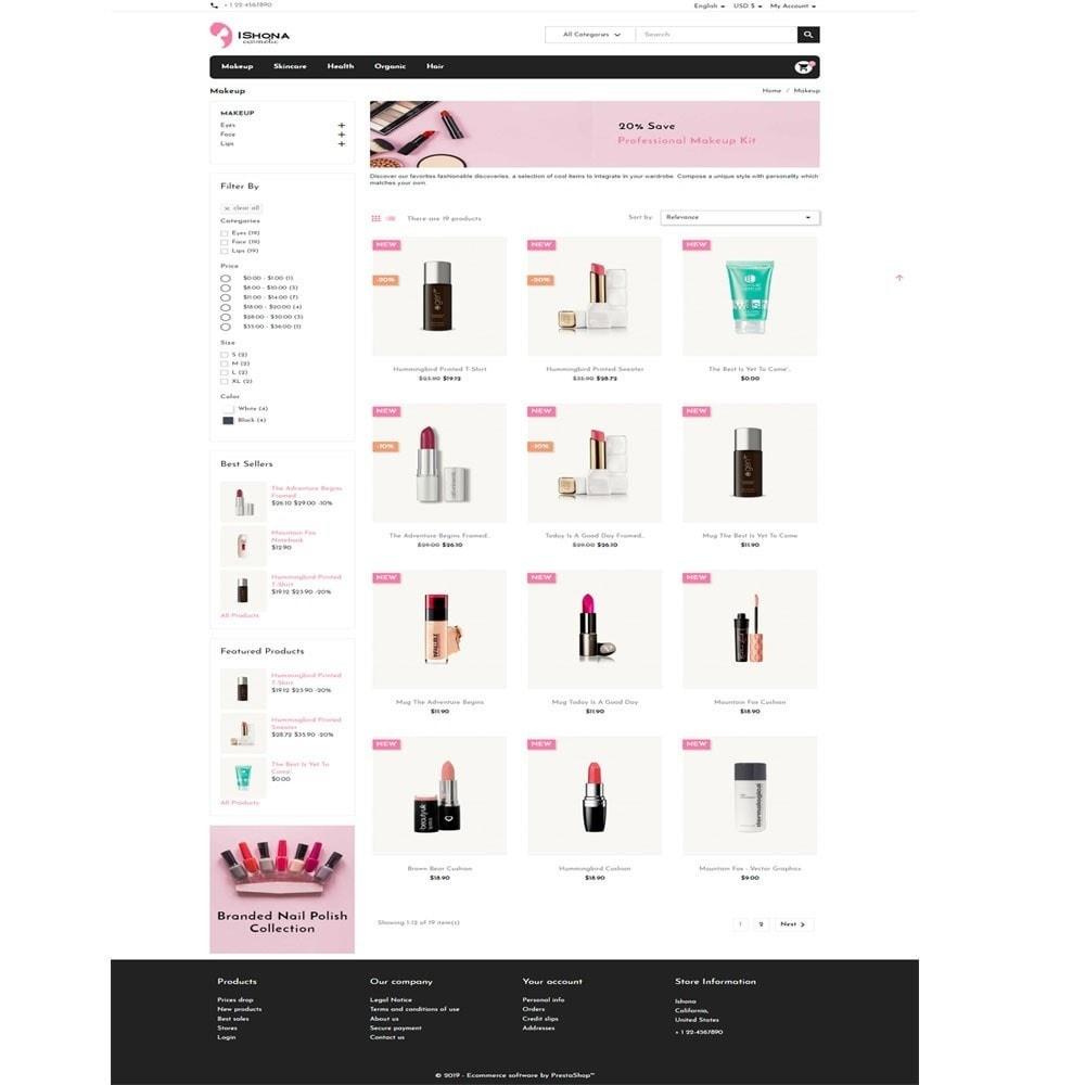 theme - Health & Beauty - Ishona Cosmetic Store - 3