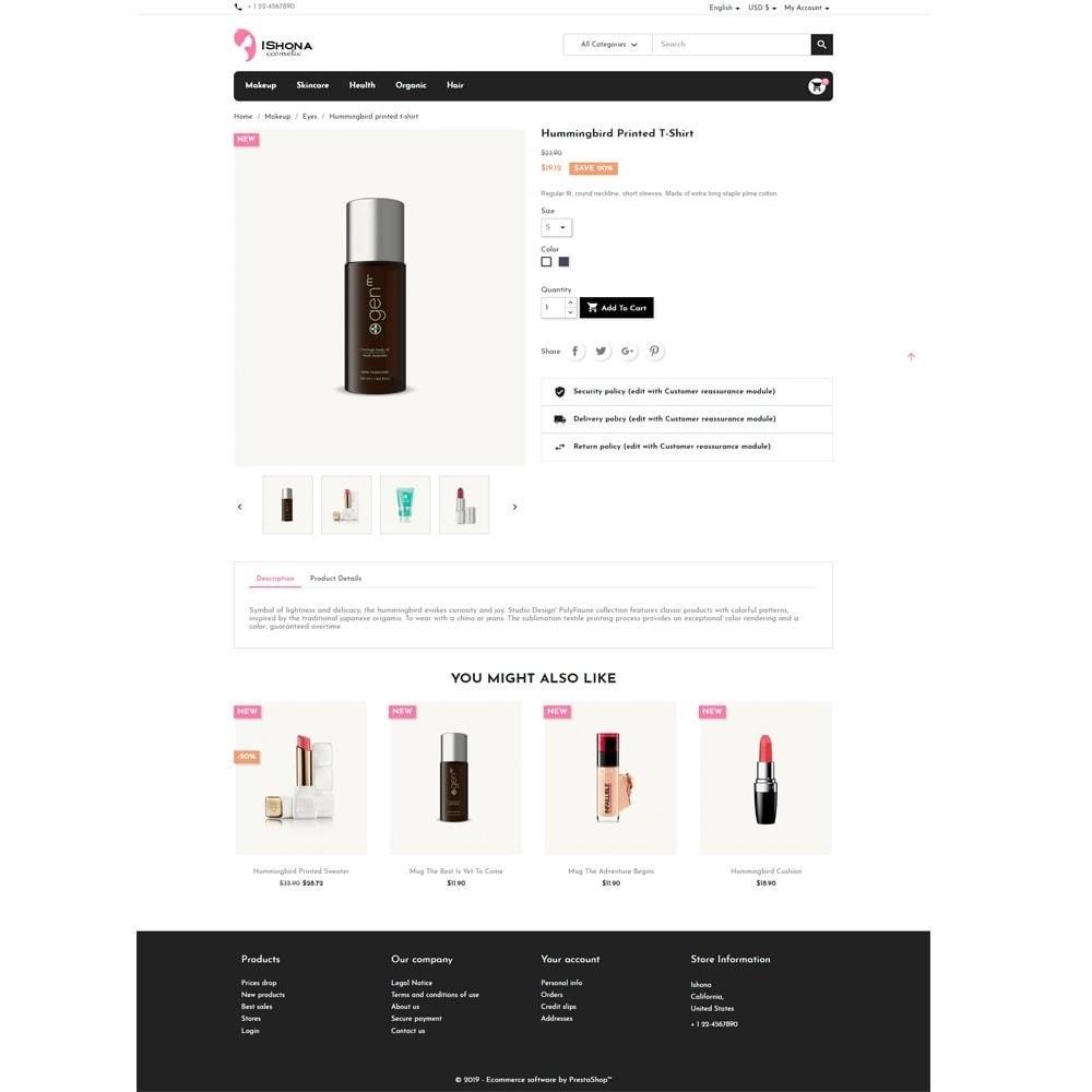 theme - Health & Beauty - Ishona Cosmetic Store - 5