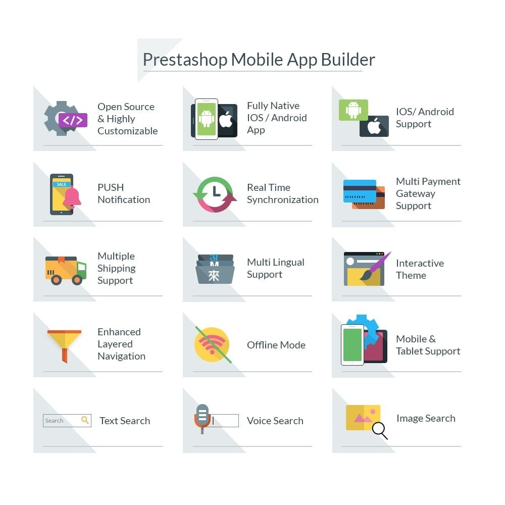module - Dispositivi mobili - Android/IOS Mobile App Builder - 1