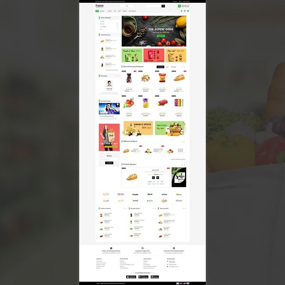 theme - Alimentation & Restauration - Épicerie FreshG Superstore v3 - 3