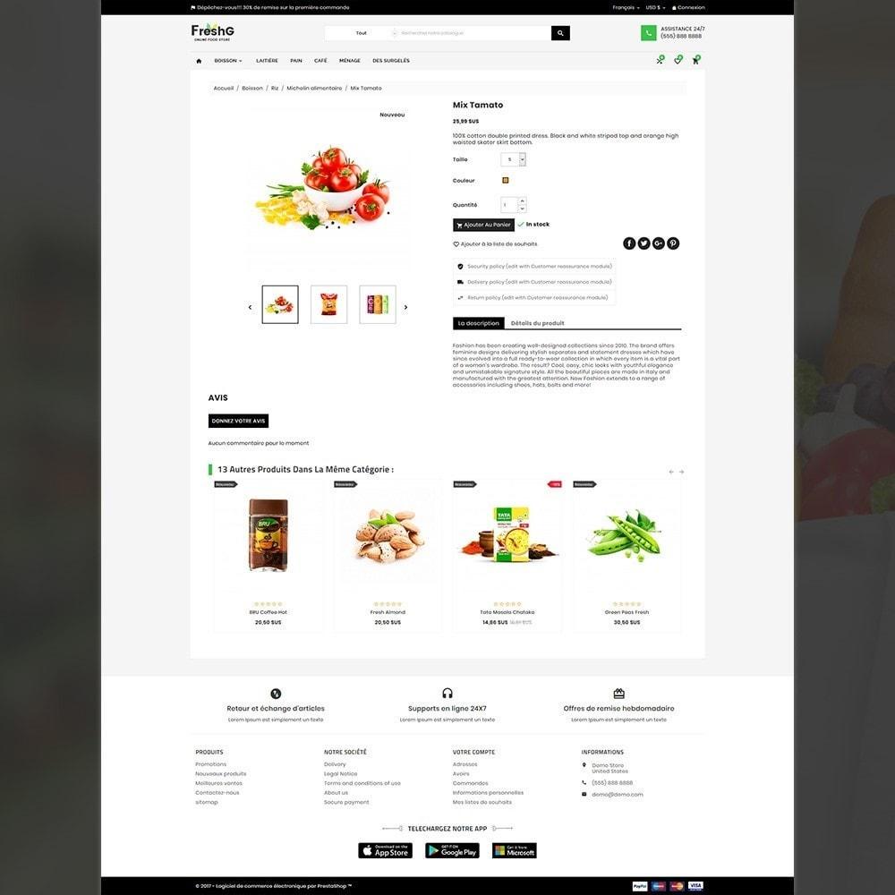 theme - Alimentation & Restauration - Épicerie FreshG Superstore v3 - 5