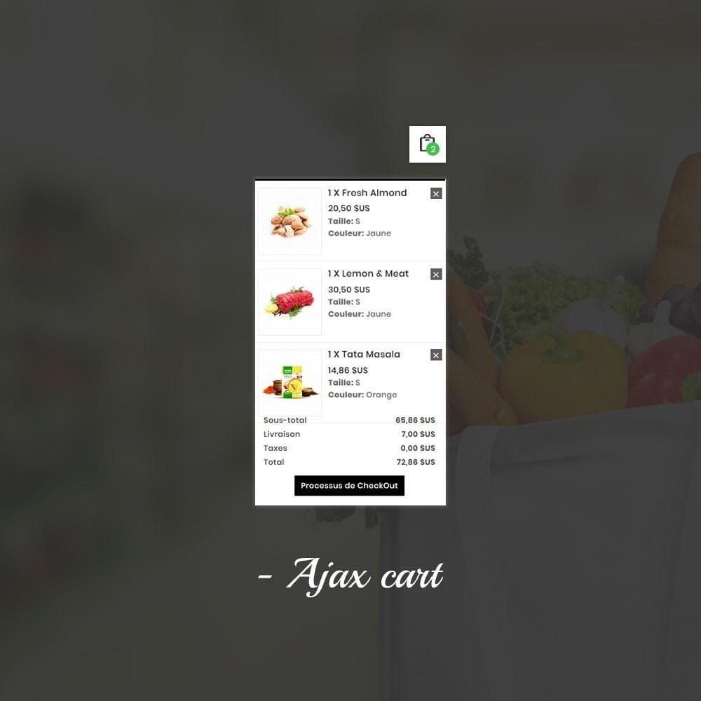 theme - Alimentation & Restauration - Épicerie FreshG Superstore v3 - 9