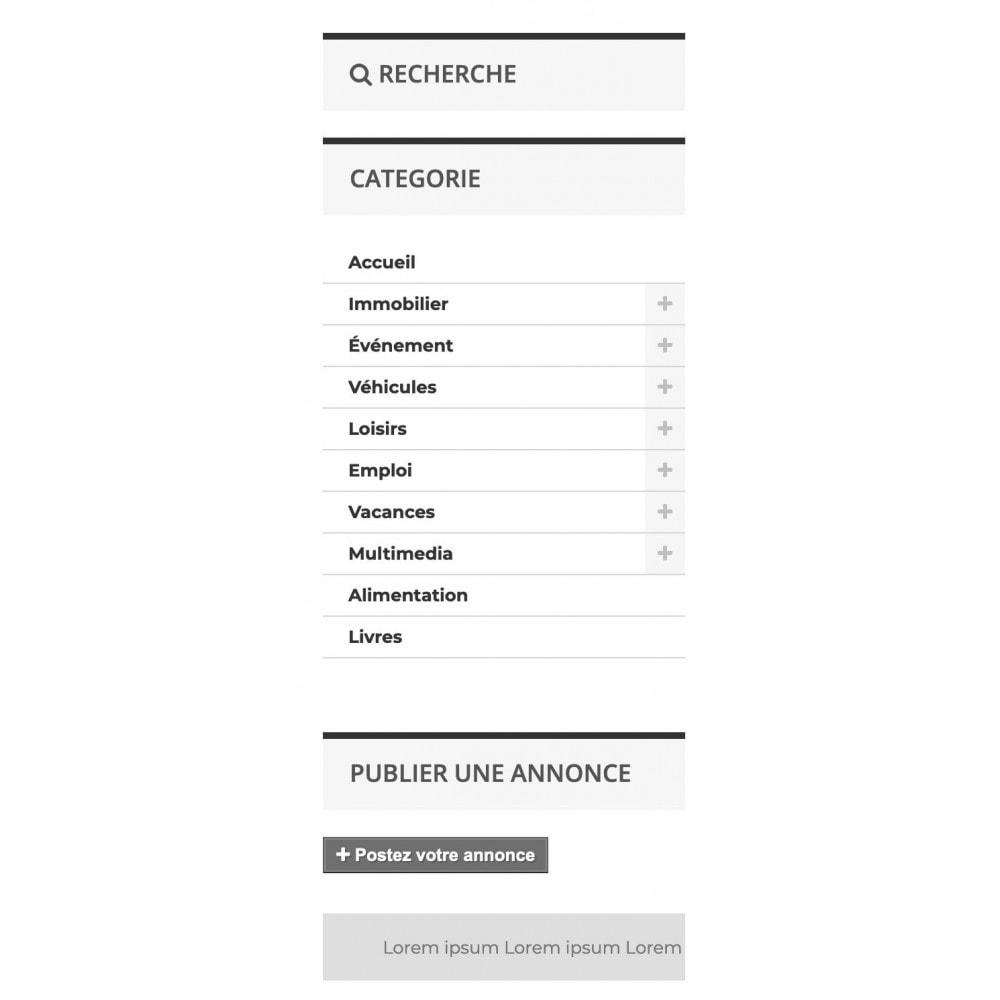 module - Blocs, Onglets & Bannières - Animation texte défilant - 3