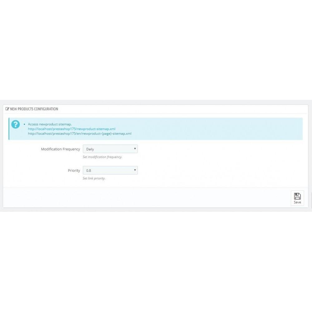 module - SEO (Indicizzazione naturale) - Advance Google SEO XML Sitemap Generator - 9
