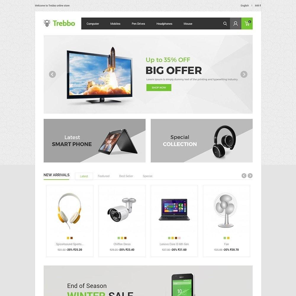 theme - Elektronika & High Tech - Urządzenie mobilnej elektroniki - komputerowy sklep - 3