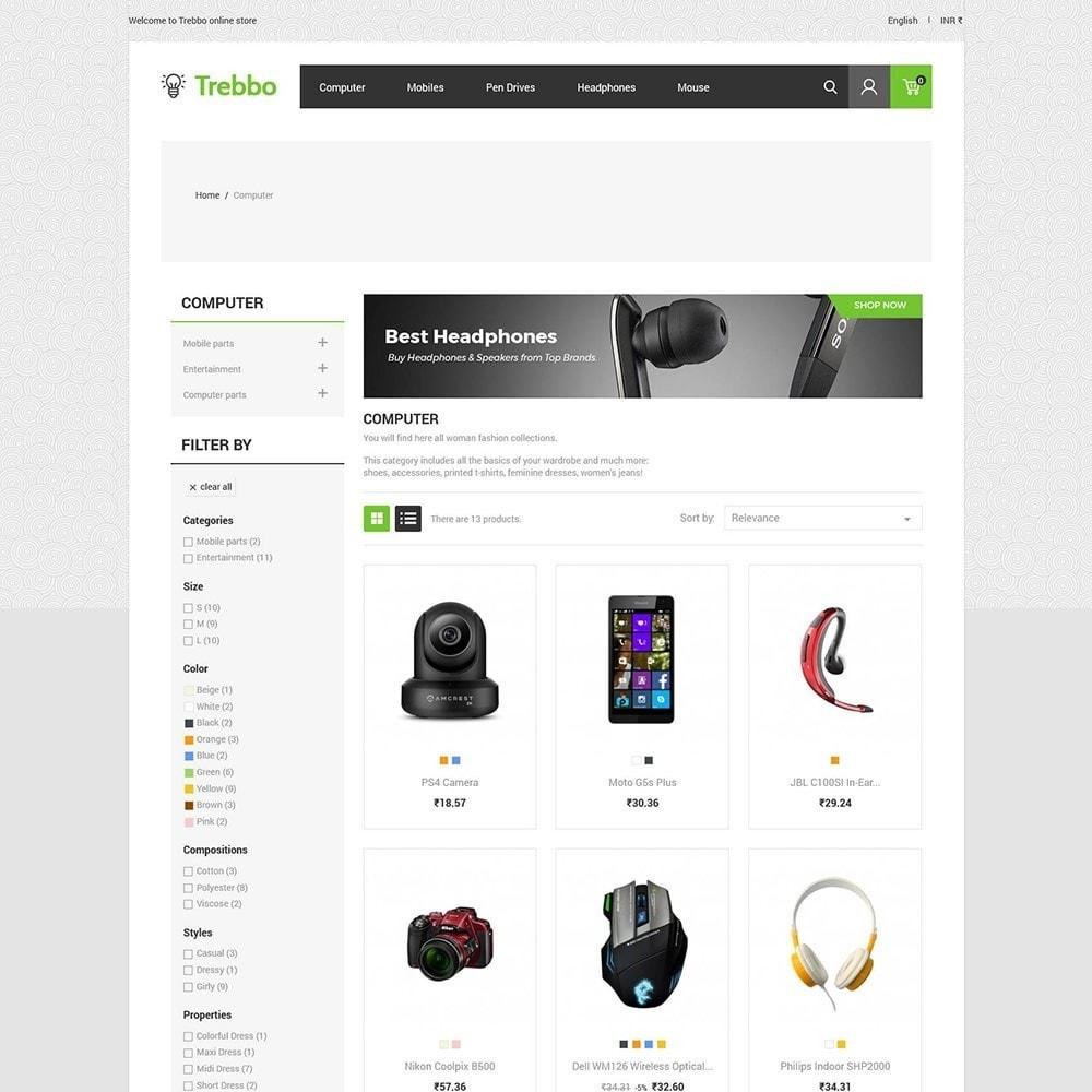 theme - Elektronika & High Tech - Urządzenie mobilnej elektroniki - komputerowy sklep - 4