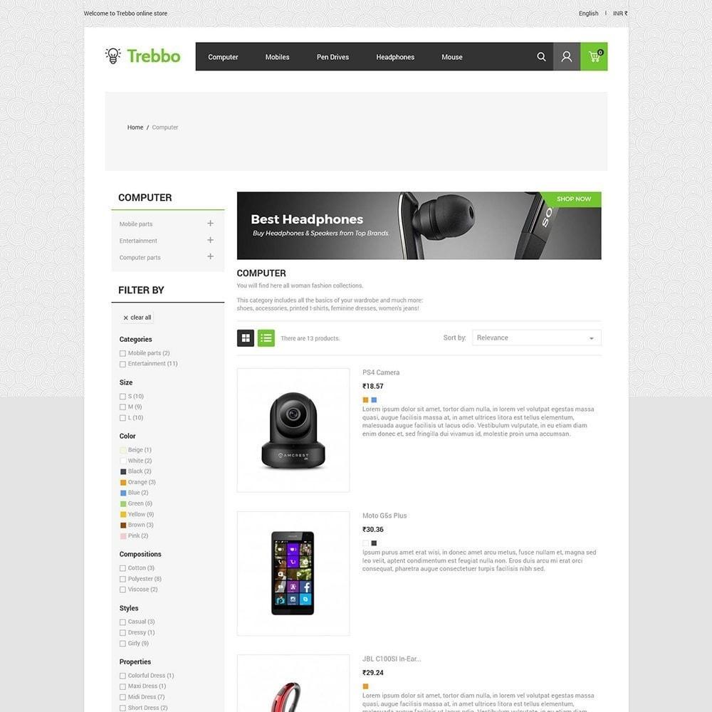 theme - Elektronika & High Tech - Urządzenie mobilnej elektroniki - komputerowy sklep - 5