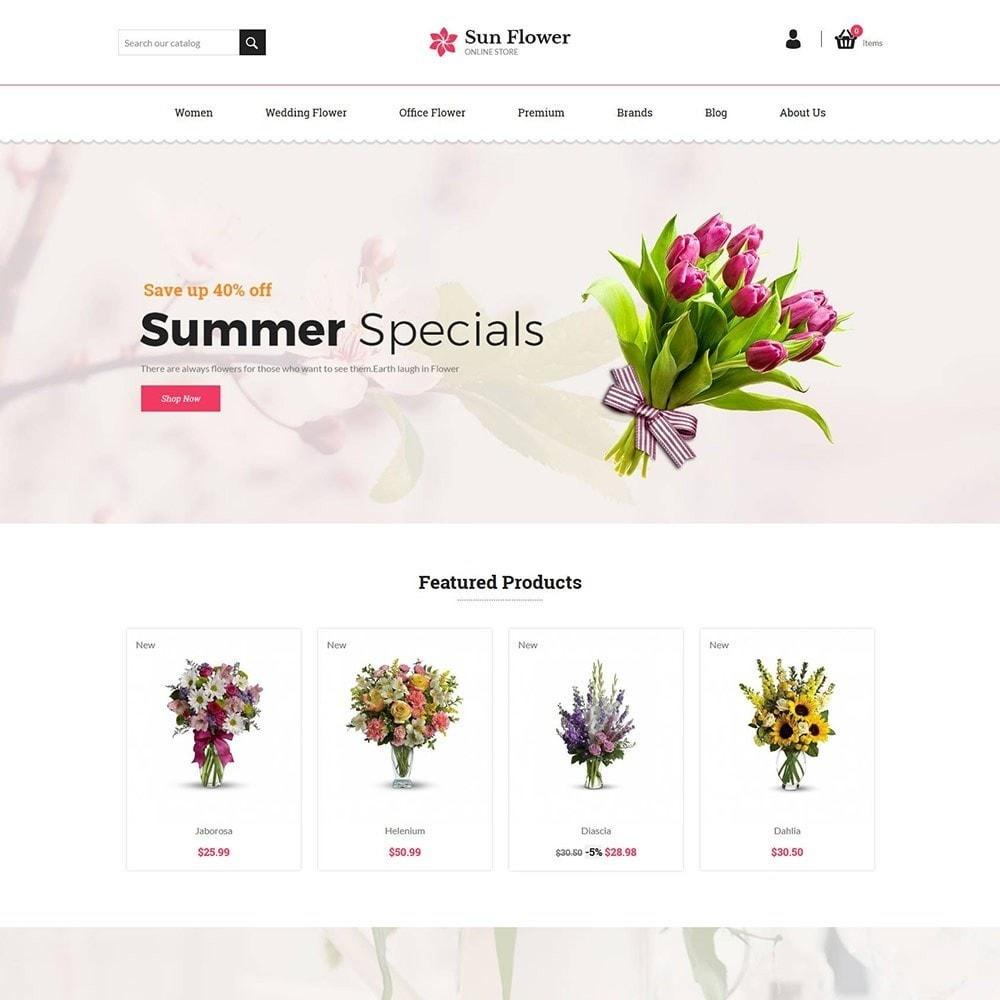 theme - Prezenty, Kwiaty & Uroczystości - Flower Gift - Love Choclate Store - 2