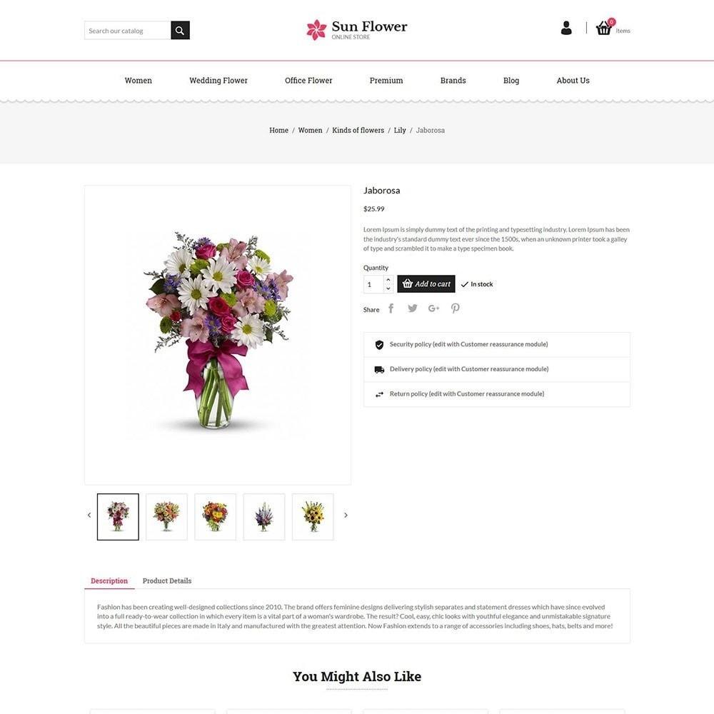 theme - Prezenty, Kwiaty & Uroczystości - Flower Gift - Love Choclate Store - 5