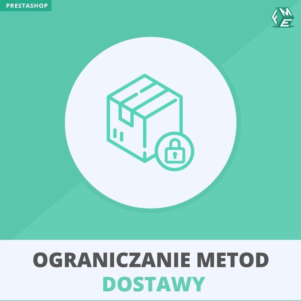 module - Dostawa & Logistyka - Ograniczanie Metod Dostawy - 1