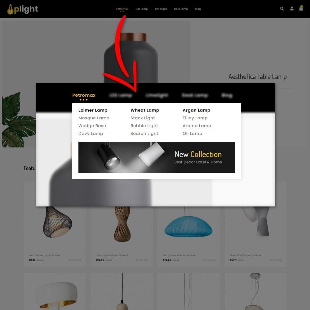 theme - Elektronica & High Tech - Uplight - light Store - 6
