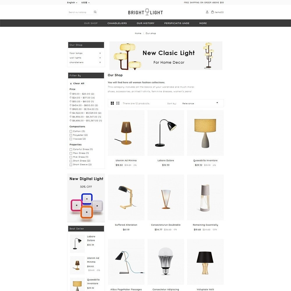 theme - Home & Garden - Brightlight - The Furniture Store - 4