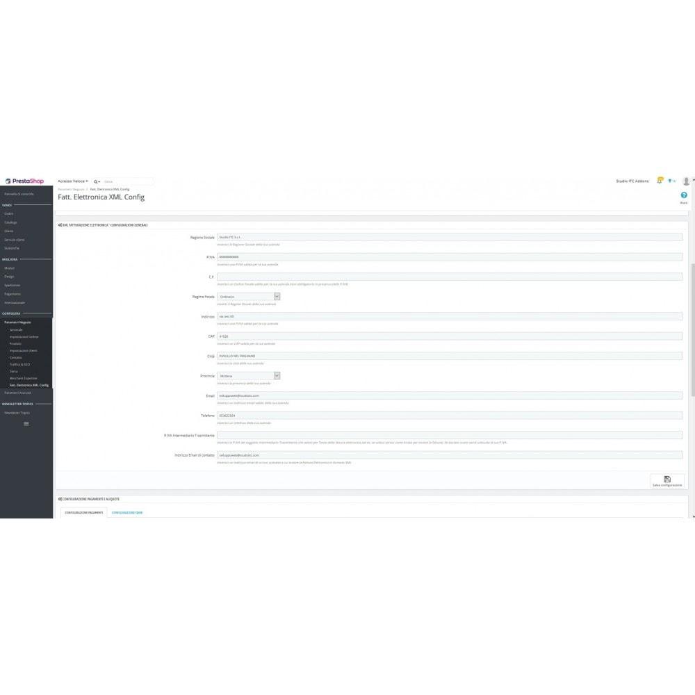 module - Pagamento con Fattura - ITC XML Fattura Elettronica - 4