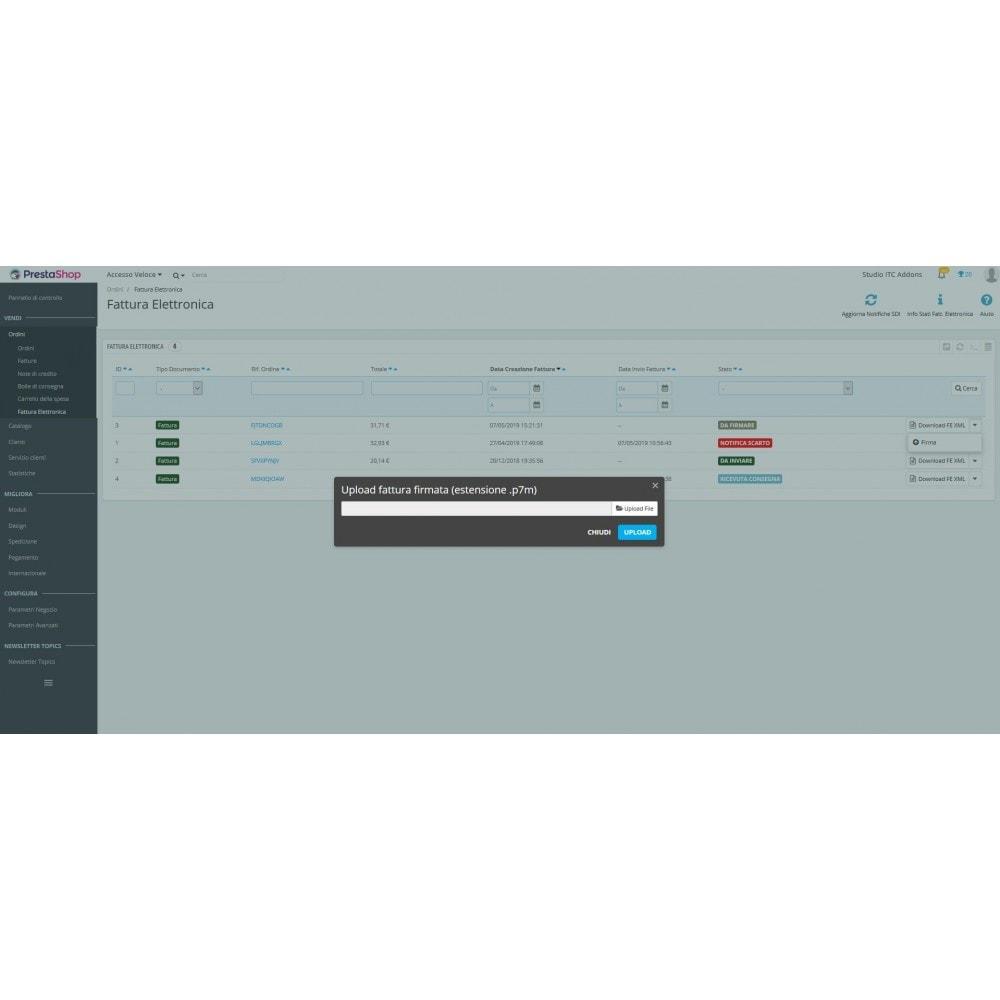 module - Pagamento con Fattura - ITC XML Fattura Elettronica - 11