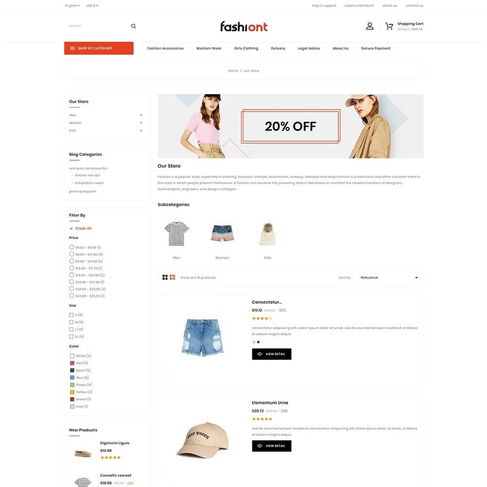 theme - Moda y Calzado - Fashiont - The Fashion Store - 5