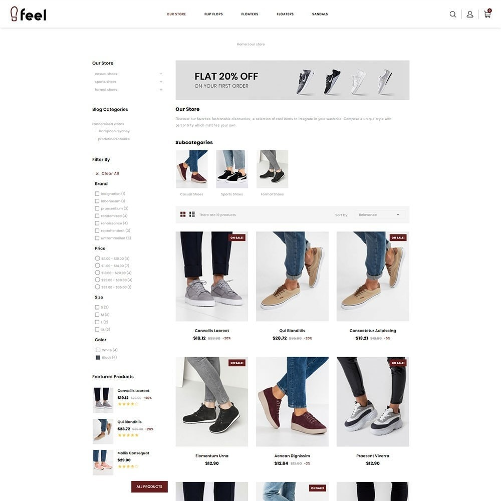 theme - Moda & Obuwie - Feel - The Shoe Store - 4
