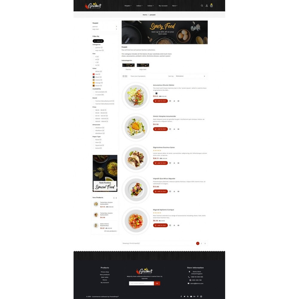 theme - Food & Restaurant - Gourmets - Tasty Food & Dishes - 4