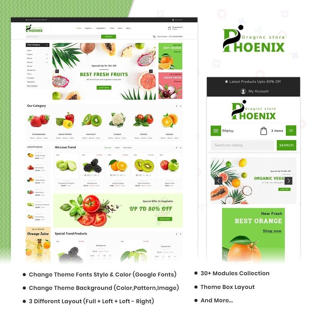 theme - Żywność & Restauracje - Phoenix Organic Big Mall - 1