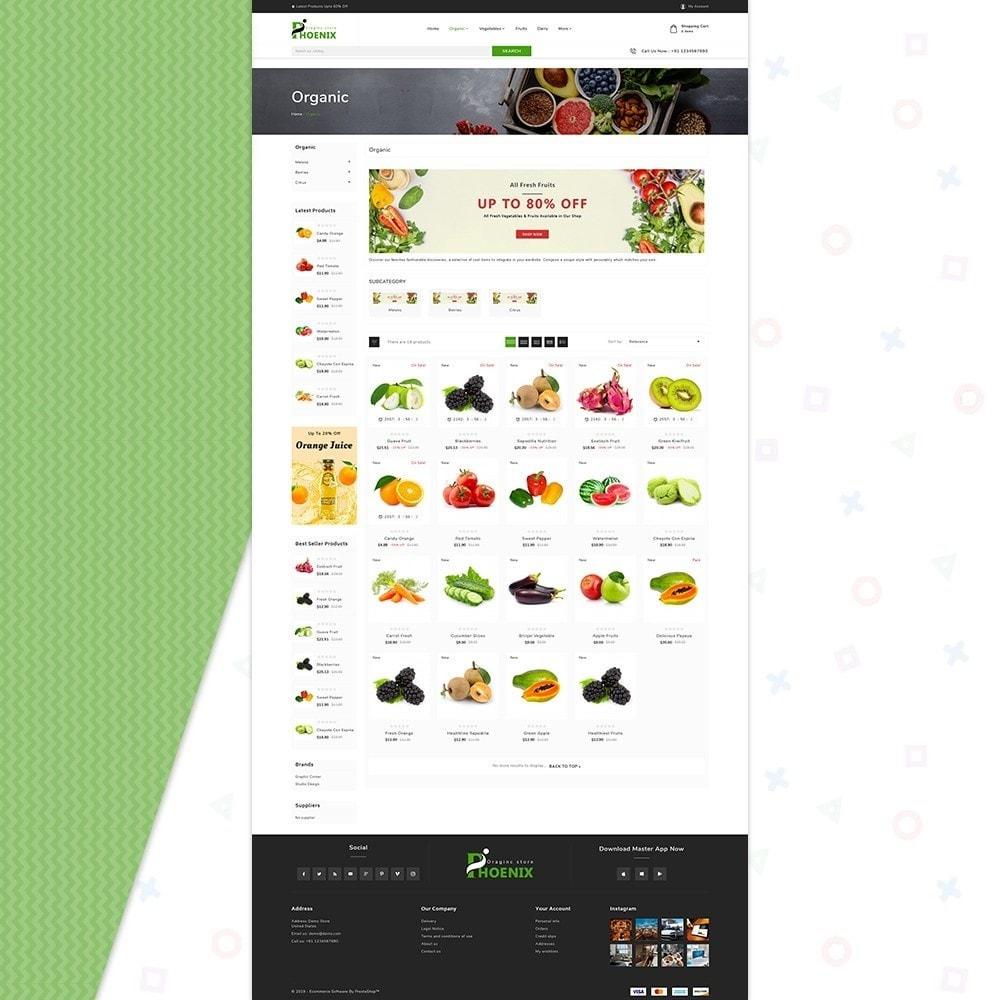 theme - Żywność & Restauracje - Phoenix Organic Big Mall - 3