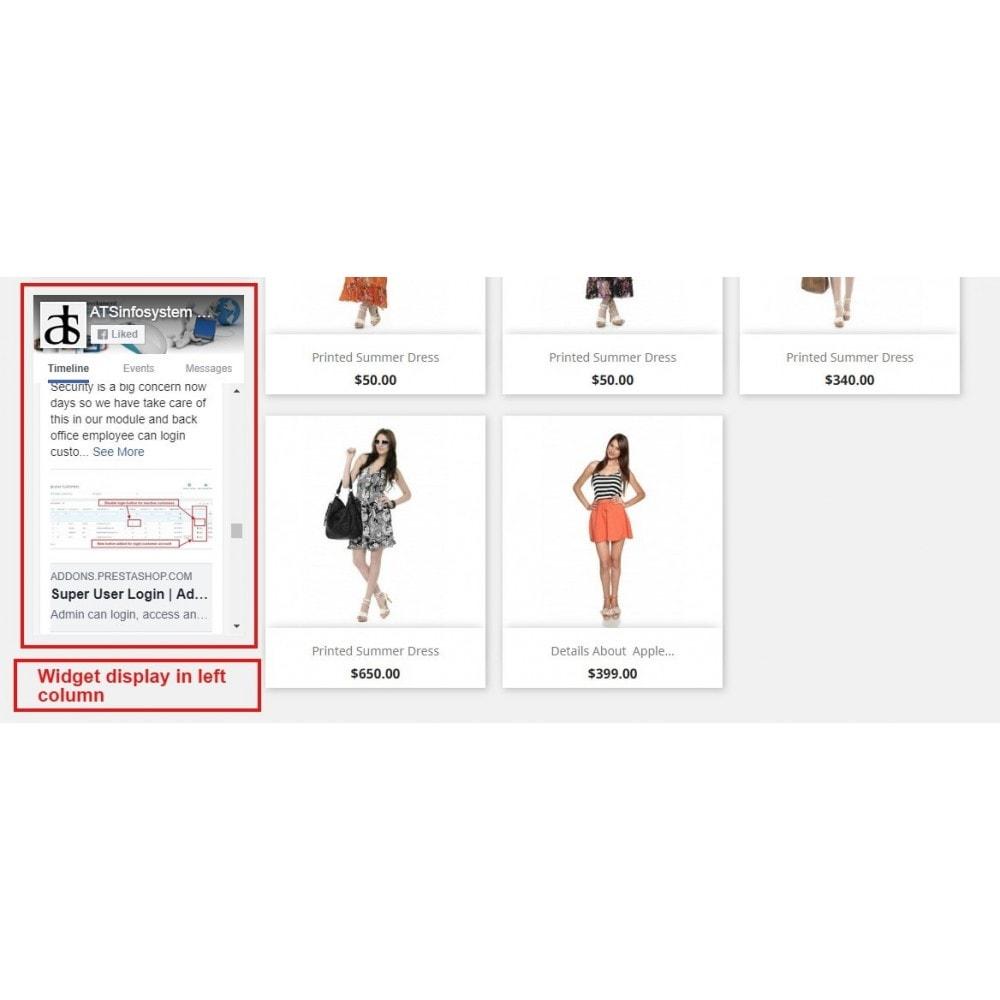 module - Виджеты для социальных сетей - Social Feed Widgets | Like box & feeds - 10