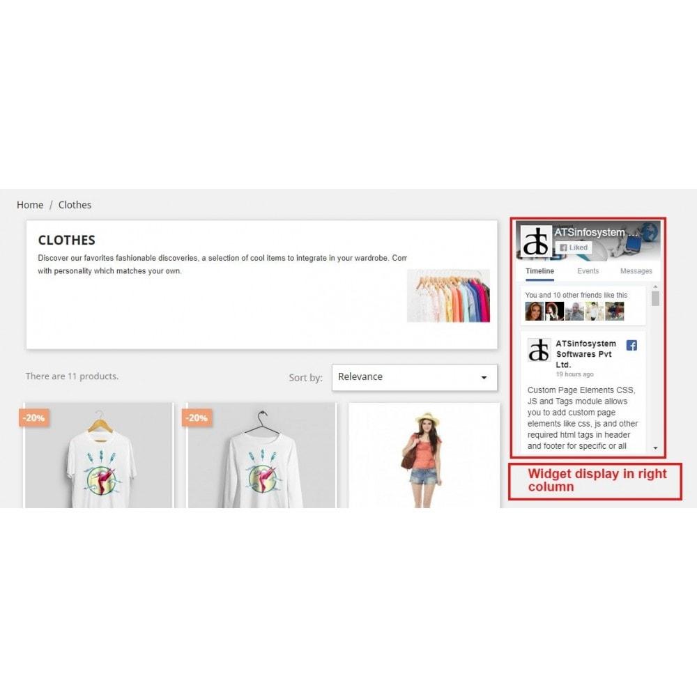 module - Виджеты для социальных сетей - Social Feed Widgets | Like box & feeds - 12